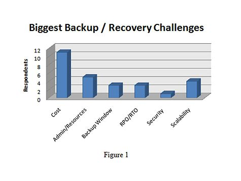 Figure 1: Biggest Backup & Recovery Challenges
